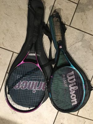 Tennis rackets and cases for Sale in Westminster, CA