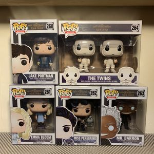 Funko pop Miss Peregrines's Peculiar Children lots for Sale in Sacramento, CA