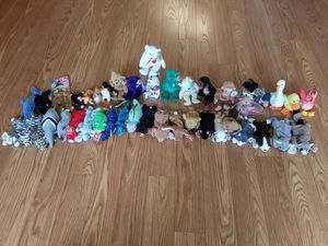 Collection of TY Beanie Babies (43 Count) for Sale in Tampa, FL