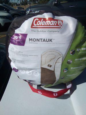 Coleman sleeping bag for Sale in Litchfield Park, AZ