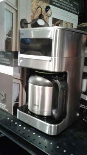 Stainless steel coffee maker new for Sale in Modesto, CA