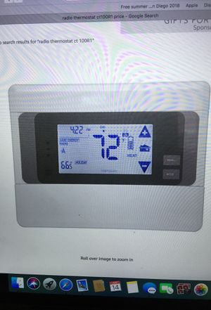 2 gig CT 100 z-wave programmable Thermostats reg price 129.99 ea total $390 for Sale in San Diego, CA