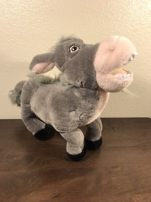 "DONKEY Plush 2004 Dreamworks Shrek 2 stuffed animal toy 12"" for Sale in Murray, UT"