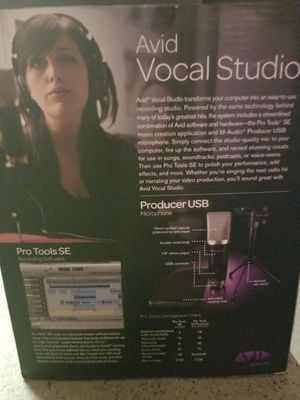 Avid vocal studio with pro tools se for Sale in Orlando, FL