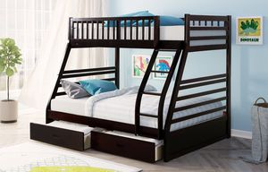 Brand New Twin/Full Bunk Bed for Sale in Austin, TX