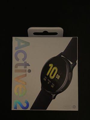 Samsung Galaxy Watch Active 2 44m Aluminum - Aqua Black for Sale in New York, NY