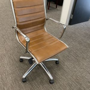 Leather Office Task Chairs (8) for Sale in Newport Beach, CA