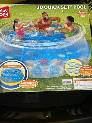 8 feet wide 3D pool new new for Sale in Warren, MI