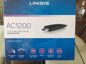 LINKSYS AC1200 USB ADAPTOR for Sale in Coppell, TX