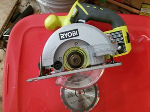 RYOBI 18-Volt ONE+ Cordless 5-1/2 in. Circular Saw (Tool Only) for Sale in Jacksonville, FL