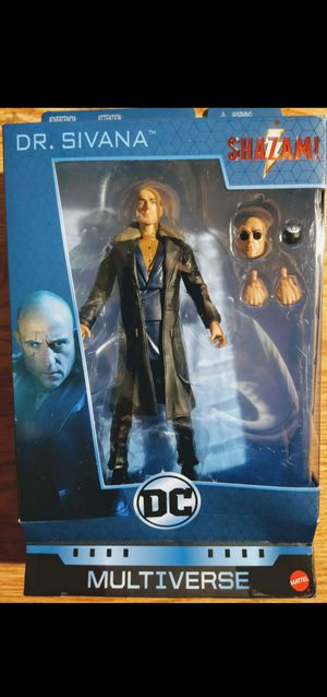 New Multiverse Dr. Sivana Action Figure. for Sale in Apopka, FL