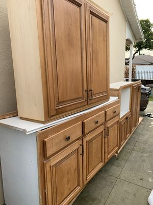 Kitchen cabinets $ 150 for all for Sale in Norwalk, CA