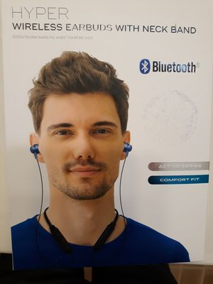 Wireless Earbuds with neck band bluetooth for Sale in Gilbert, AZ