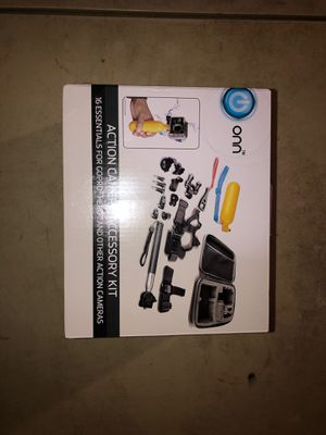 ONN Action Camera Accessory Kit for Sale in Sturbridge, MA