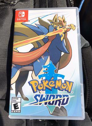 Nintendo Switch Pokémon Sword for Sale in Ontario, CA