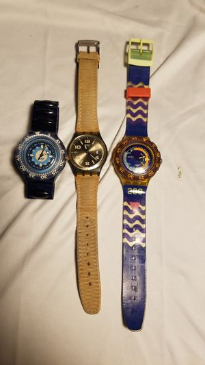SWATCHES 3 FOR $50. for Sale in Honolulu, HI