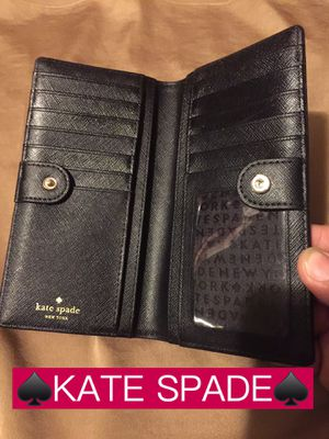 ♠️KATE SPADE♠️ Black Wallet for Sale in Pomona, CA
