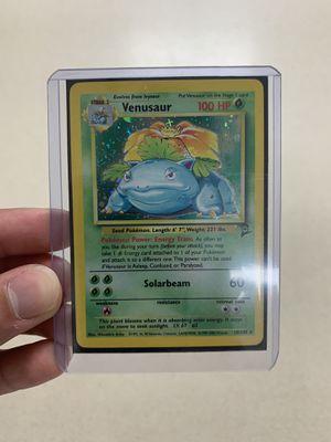 Pokemon Venusaur Holo #18 (Base Set 2) for Sale in Dearborn, MI