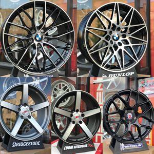 "18"" 5x120 wheels rims fit bmw 323 325 328 330 335 535 528 540 550 635 640 650 Acura TL for Sale in Brooklyn, NY"
