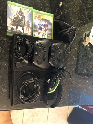 Xbox one (great condition) for Sale in Miami, FL