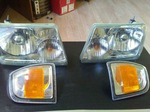 FORD RANGER 2001-2011 OEM HALOGEN HEADLIGHTS PART #5L54-13006-A for Sale in Marion, OH