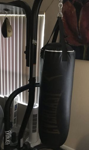 Everlast Boxing Heavy Bag and Speed Bag for Sale in Pompano Beach, FL