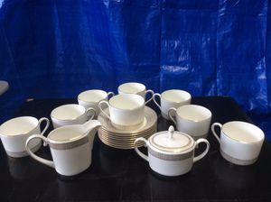Vera Wang Bone China tea set for Sale in Tigard, OR