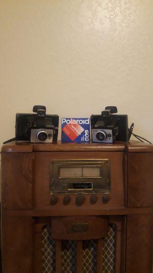 Polaroid Cameras w/ film for Sale in Newcastle, WA