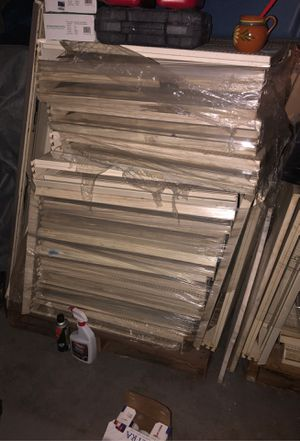 7 pallots of metal shelves for Sale in Glendale, AZ
