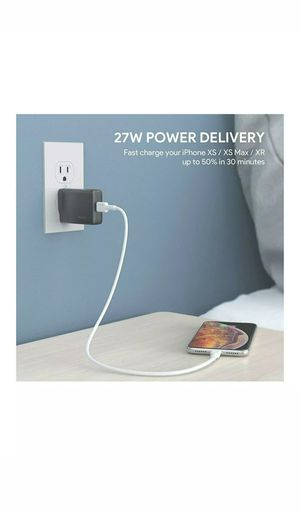 AUKEY USB-C Charger Power Delivery 3.0 for Sale in Wichita, KS
