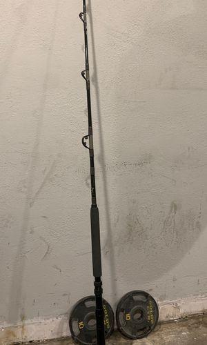 Cal star Deep-sea fishing rod for Sale in Norwalk, CA