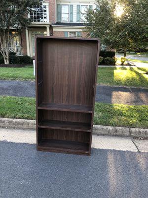 Real wood bookshelf for Sale in Falls Church, VA