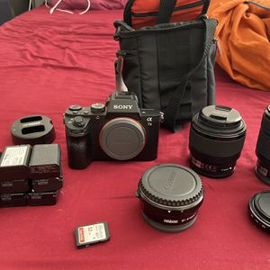 Sony A7II with accessories for Sale in Union City, CA