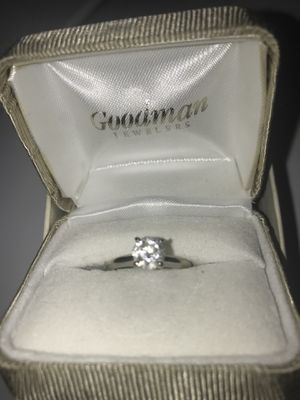 One karat diamond ring size 5 3/4 Goodman's for Sale in Bloomington, MN