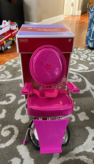 American girl Styling Chair for Sale in Redwood City, CA