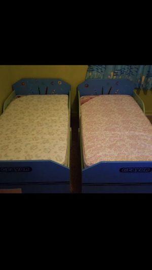 2Kids beds + mattresses for Sale in Lakeland, FL