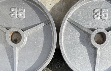 OLYMPIC WEIGHTS Plates 35s 35 Lbs Pair for Sale in Everett,  WA