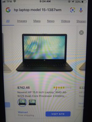How touch laptop for Sale in Independence, MO
