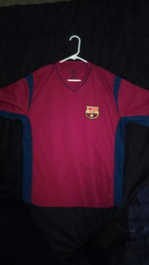 Size XL Barcelona soccer training kit for Sale in San Angelo, TX