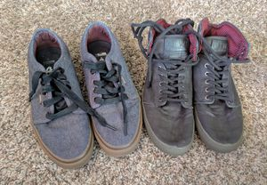 2 Pairs Men's Vans Shoes for Sale in Fayetteville, AR