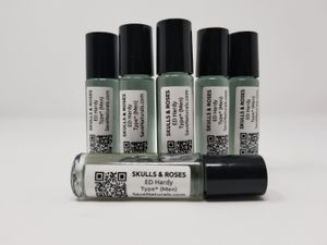 Skulls and Roses Type* Fragrance for Men Body Oil (M) Cologne perfume 1/3 oz roll on Glass Bottle for Sale in Charlotte, NC