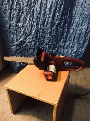 16 in electric chainsaw for Sale in Washington, DC