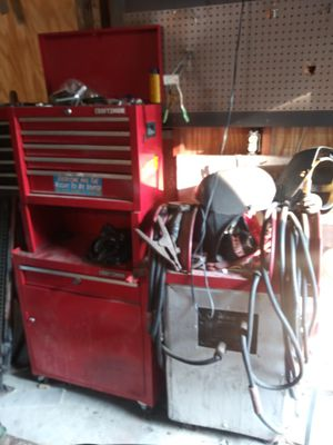 Work bench drill press welder and tools for Sale in Obetz, OH