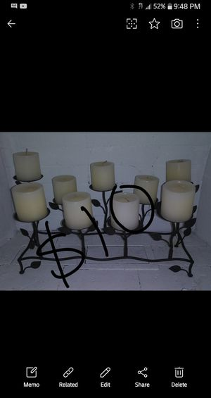 Candle holder / home decor $10 for Sale in Orange, CA