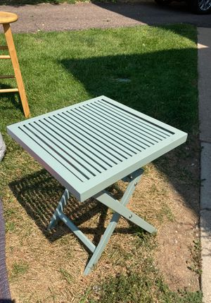 folding lawn table for Sale in Denver, CO