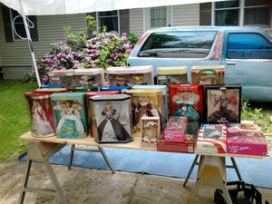 Barbie Collection and ceramic dolls $25 and up for Sale in Gambier, OH