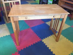 Solid wood student desks with drawer (5 available) for Sale in Waimea, HI