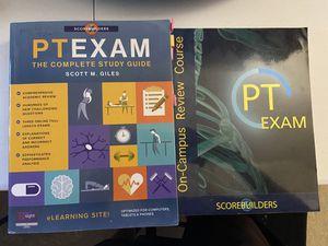 Scorebuilders NPTE 2018 study guide + review course book w code for Sale in Carrollton, TX
