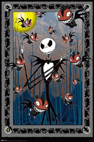 Nightmare Before Christmas Tarot Wall Poster - Never opened! for Sale in San Antonio, TX