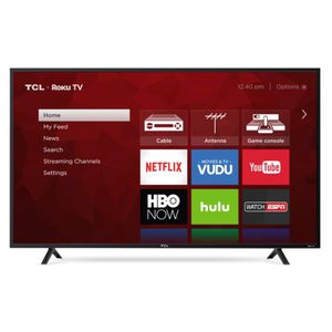 """TCL - 55"""" Class - LED - 4 Series - 2160p - Smart - 4K UHD TV with HDR Roku TV for Sale in Duquesne, PA"""